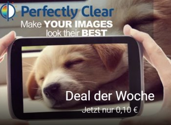 "Google Play: App ""Perfectly Clear"" für 10 Cent statt 3,29 Euro"