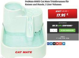 Dealclub: Gut bewerteter PetMate Katzenbrunnen für 17,95 Euro frei Haus