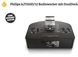 Dealclub: Philips AJ7260D/12 Radiowecker mit Dual-Dock für 89 Euro frei Haus