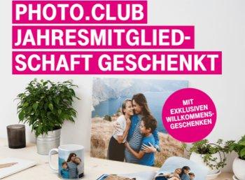 Gratis: Jahresmitgliedschaft im Photo.club via Telekom zum Nulltarif