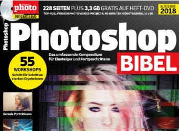"""Gratis: """"Photoshop Bibel 2018"""" zum kostenlosen Download"""