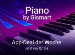 """Google Play: App """"Echtes Klavier"""" für 10 Cent statt 2,19 Euro"""