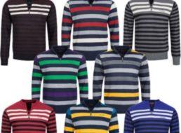Pierre Cardin: Streifen-Sweatshirt für 16,99 Euro frei Haus