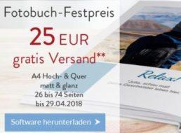 Pixelnet: A4-Hardcover-Fotobuch mit bis zu 74 Seiten für 25 Euro frei Haus