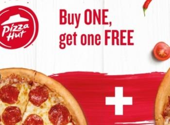 Groupon: Pizza-Hut-Gutschein für 2-für-1-Aktion zum Preis von einem Euro