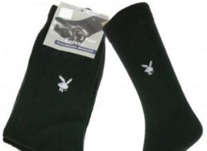 Outlet46: Dreierpack Playboy-Socken für 3,99 Euro frei Haus