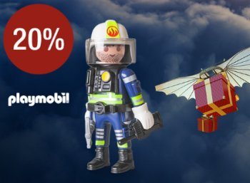 Galeria: 20 Prozent Playmobil-Rabatt bis Sonntag