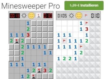 "Gratis: App ""Minesweeper"" jetzt bei Google Play zum Nulltarif"