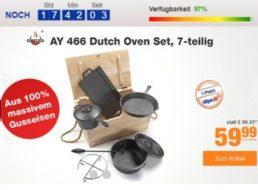 Plus: Duch-Oven-Set aus Gusseisen zum Bestpreis von 59,99 Euro frei Haus