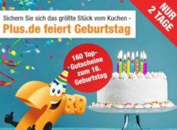 Plus: Vier Geburtstags-Gutscheine bis Dienstag abend