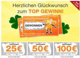 Plus: 25 bis 100 Euro Rabatt für zwei Tage per Gutscheincode
