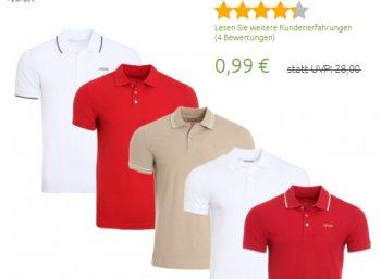 Outlet46: 20 Poloshirts für 19,80 Euro frei Haus