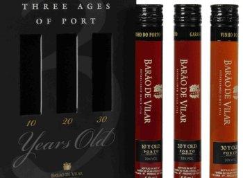 Portwein: Probierpaket mit bis zu 30 Jahre alten Barão de Vilar für 40 Euro