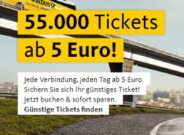 Postbus: Einfache Bustickets für je 5 Euro
