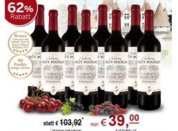 Ebrosia: Acht Flaschen prämierter Château Haut-Pourjac Bordeaux für 39 Euro