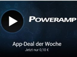 Google Play: Poweramp Full Version für 10 Cent