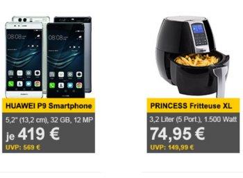 Allyouneed: Sehr gut bewertete Heißluftfritteuse Princess Digital Aerofryer XL für 74,95 Euro