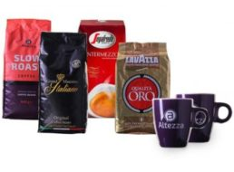 Kaffevorteil: Probierpaket mit vier Kilo Bohnen und zwei Tassen für 49,99 Euro