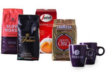 Kaffevorteil: Probierpaket mit vier Kilo Bohnen und zwei Tassen für 29,99 Euro