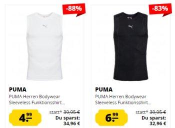 Puma: Funktionsshirts ab 4,99 Euro bei Sportspar.de