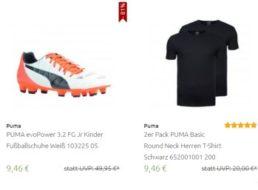 Outlet46: Puma-Sale mit Artikeln ab 9,46 Euro frei Haus