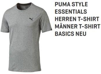 Puma: T-Shirts für Männer mit Drycell für zwölf Euro frei Haus