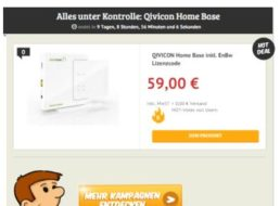 Dealclub: Qivicon Home Base für 59 Euro frei Haus