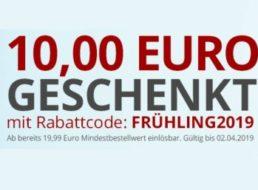 Druckerzubehoer: 10 Euro Rabatt ab 19,99 Euro Warenwert für zwei Tage