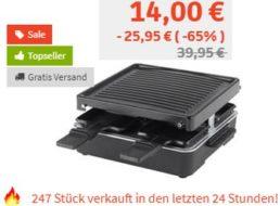Völkner: Raclette für vier Personen für 14 Euro frei Haus