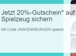 Ebay: Ravensburger Spiele und Spielzeug für kurze Zeit mit Rabatt