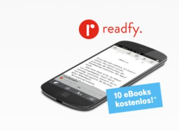 Gratis: Zehn eBooks für einen Monat bei Readfy via Telekom zum Nulltarif