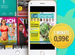Readly: Drei Monate Magazin-Flat für insgesamt 99 Cent