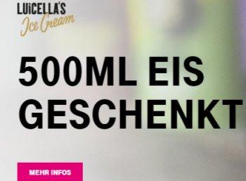 """Gratis: Eis von """"Luicella's Ice Cream"""" bei Real für Telekom-Kunden geschenkt"""