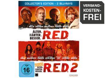 """Steelbox-Edition """"R.E.D."""" Teil eins und zwei auf Blu-ray für 9,99 Euro"""