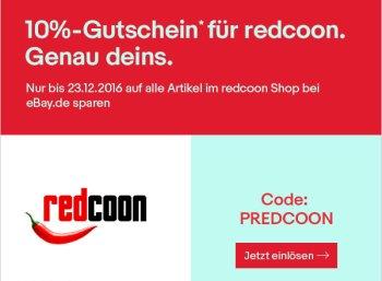 Redcoon: 10 Prozent Rabatt auf Notebooks und mehr via Ebay