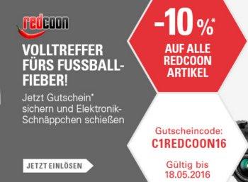 Redcoon: 10 Prozent Ebay-Rabatt für eine Woche