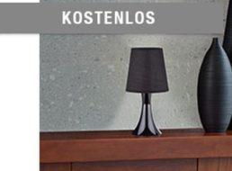 Druckerzubehoer.de: Retro-Tischlampe für 5,97 Euro mit Versand