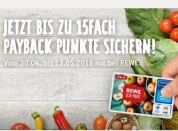 Rewe: 7,5 Prozent Rabatt via Payback für zwei Wochen