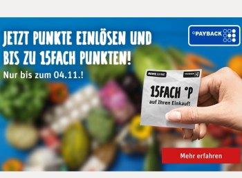 Rewe: 7,5 Prozent Rabatt online und offline via Payback