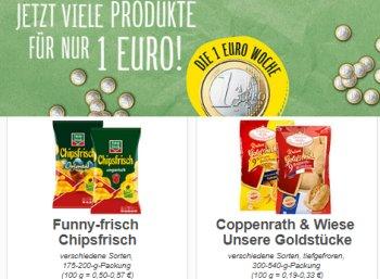 """Rewe: Ein-Euro-Woche sowie Eis von """"Ben & Jerry's"""" für je 4,99 Euro"""
