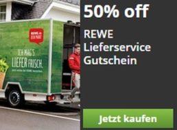 Rewe: 20 Euro Rabatt für Neukunden beim Rewe Lieferservice