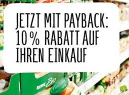 Rewe: Zehn Prozent Rabatt via Payback-Karte bis zum 4. Juni