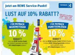 Rewe: Zehn Prozent Rabatt beim Zahlen mit der Payback-Karte