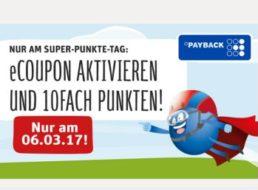 Rewe: Zehnfach Payback-Punkte (nicht) nur am kommenden Montag