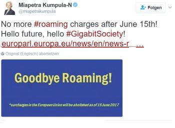 Endgültig: Roaming-Gebühren werden EU-weit im Juni abgeschafft