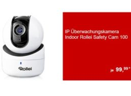 """Aldi-Süd: """"Rollei SafetyCam 100"""" mit Full HD für 99,99 Euro ab 13. November"""