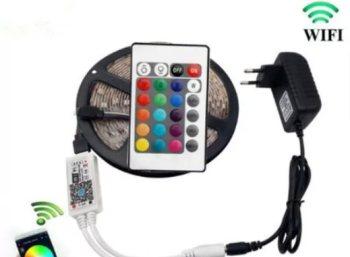 Rosegal: LED-Lichtleiste mit Smartphonesteuerung für 13,10 Euro frei Haus