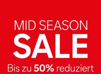 C&A: Mid-Season-Sale mit bis zu 50 Prozent Rabatt