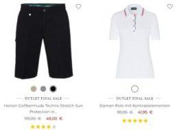 Golfino: 20 Prozent Rabatt auch auf bereits reduzierte Sale-Artikel