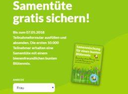 Gratis: Samentüten von Aldi zum Nulltarif frei Haus